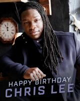 2020-09-19-Happy birthday-Chris Lee-cwlegacies
