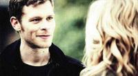 Silas as Klaus and Caroline 4x21