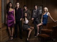 Jeremy and the TVD crew