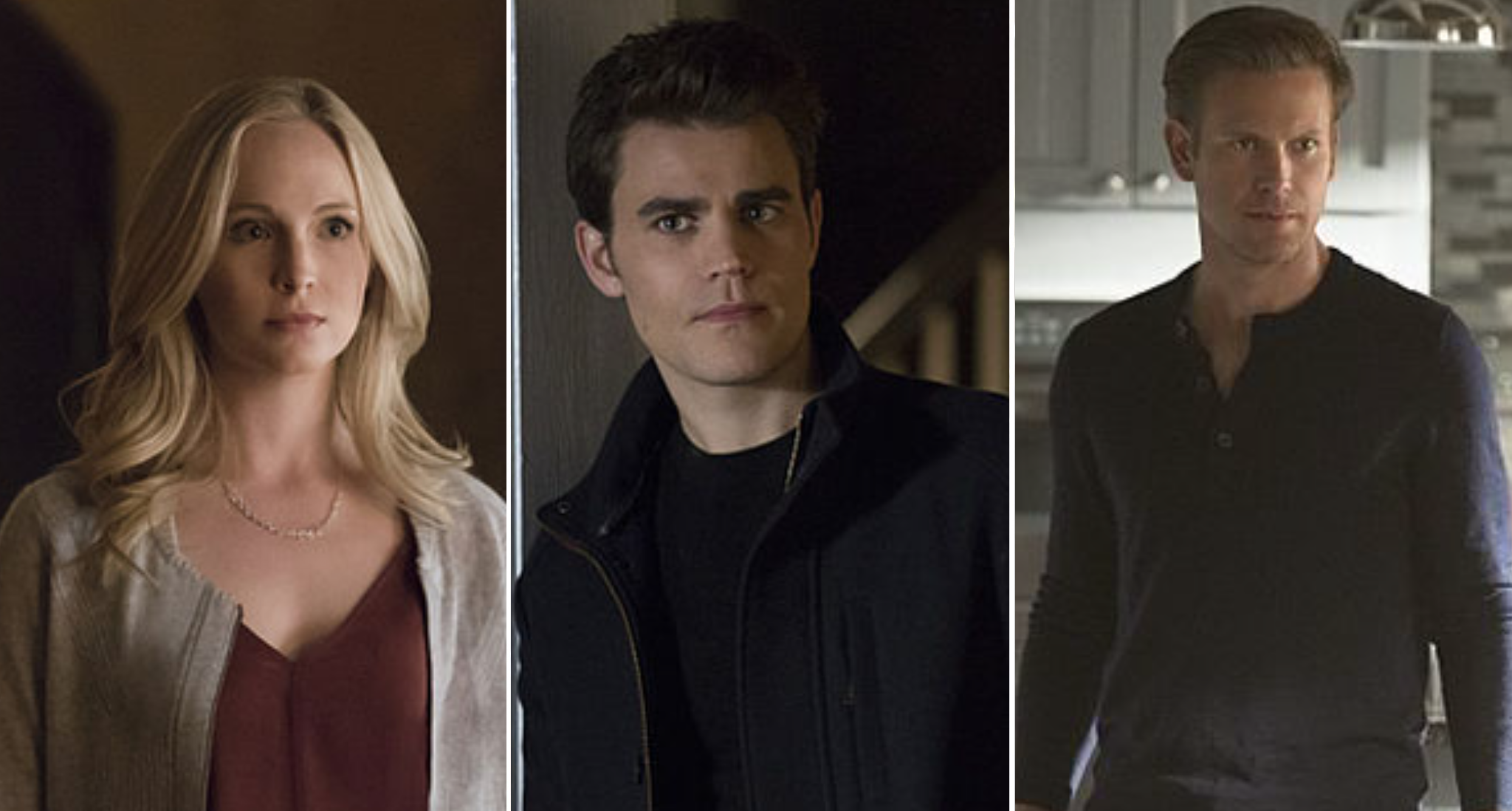 Stefan, Caroline and Alaric