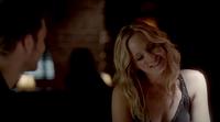 Caroline smiling to Klaus 4x6