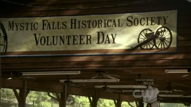 Mystic Falls Historical Society Volunteer Day