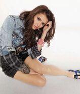 Nina dobrev jean jacket