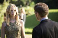 Caroline talking to Klaus