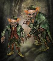 Leprechaun Concept Art - Gloria Young Kim