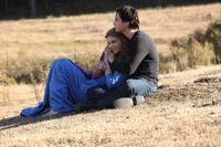 Damon embracing Rose