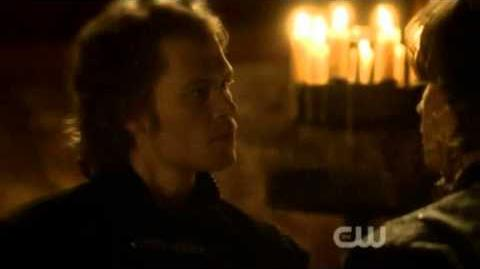 Klaus finds out Katherine escaped -Flashback 6- -Klaus- (2X19)