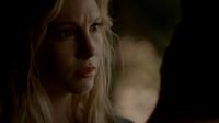 Silas as Caroline touching Klaus 4x18