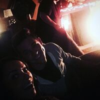 2015-10-06 Brian Young Kat Graham Instagram