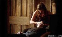 Hayley and Elijah 1x8..