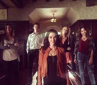 2015-10-07 Elizabeth Blackmore Justice Leak Teressa Liane Jaiden Kaine Scarlett Byrne Annie Wersching Instagram