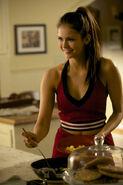 Elena smiling