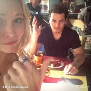 TVD603 BTS - Candice and Michael