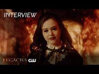 Legacies - Season 3 - Kaylee Bryant Interview - The CW