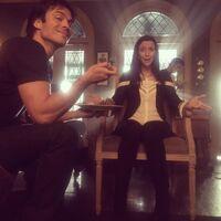 2015-11-23 Ian Somerhalder Annie Wersching Instagram