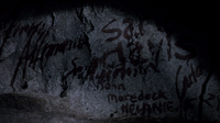 Names in the cave