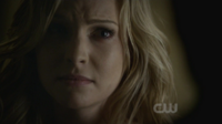 Caroline is mad with Tyler 2x13-