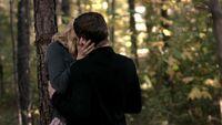 Caroline and Klaus kising