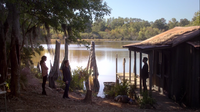 1x07-Klaus, Hayley and Elijah in the bayou 2