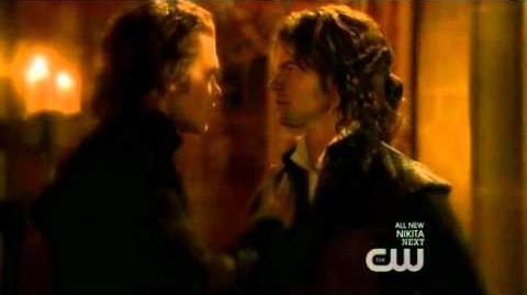 Vampire DIaries - 2x19 - Elijah and Klaus (Flashback)