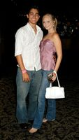Candice Accola and Tyler Hoechlin-