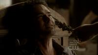 Damon Salvatore (vampire) torturing Mason Lockwood (werewolf) with wolfsbane (TVD & TO)
