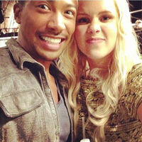 Charles-michael-davis-with-claire-holt