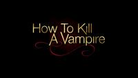 800-How To Kill S Vampire