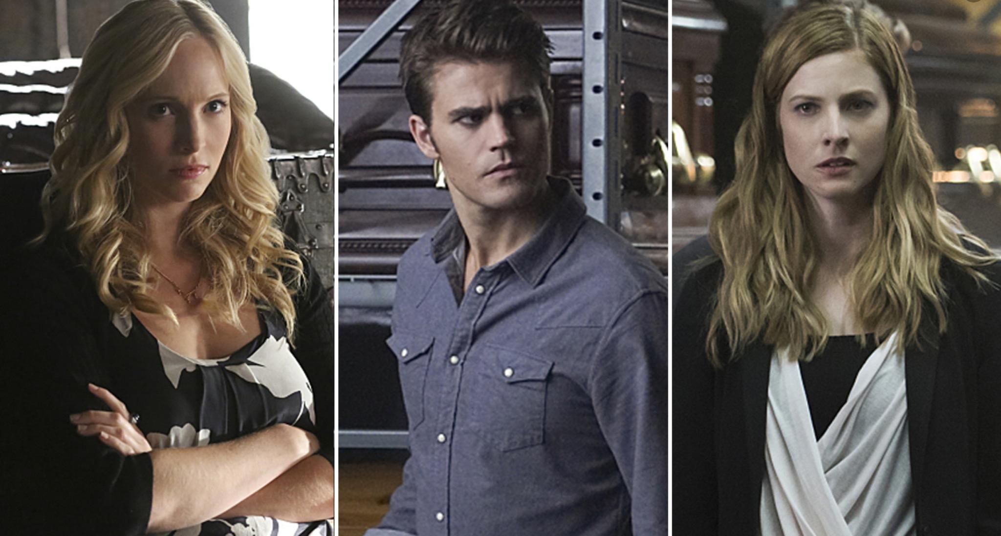 Stefan, Caroline and Valerie