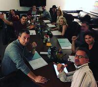 2015-12-02 Ian Somerhalder Candice King Matt Davis Michael Malarkey Zach Roerig Teressa Liane Jeffrey Hunt Instagram