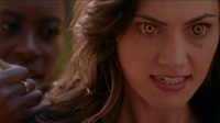 The Originals Season 3 Episode 10 A Ghost Along the Mississippi Hayley's wolf eyes