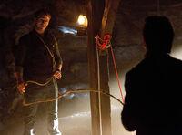 Vaughn torturing Damon