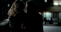 Klaus is angry with Caroline 3x15