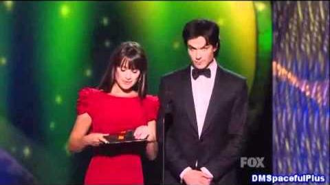 Ian_Somerhalder_and_Lea_Michele_Presents_on_the_Emmys_2011_Outstanding_Directing_Don_Roy_King