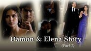 Damon & Elena - Their Story Season by season part 1