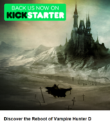 VHD Message From Mars Discover the Reboot of Vampire Hunter D