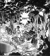 Dan and Dorid in wood