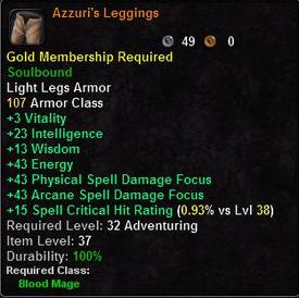 Azzuri's Leggings