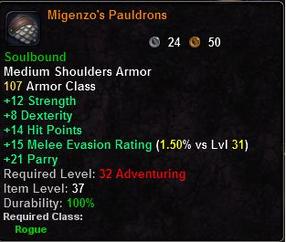 Migenzo's Pauldrons