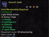 Azzuri's Armor