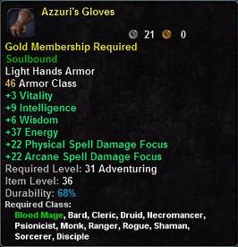 Azzuri's Gloves