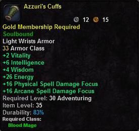 Azzuri's Cuffs
