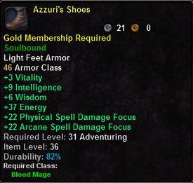 Azzuri's Shoes