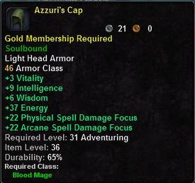 Azzuri's Cap