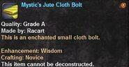 5 Mystic's Jute Cloth Bolt