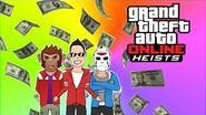 Vanoss Gaming Over 2 Hour Of GTA 5 Heist - Prison Bus, Bank Robbery &More GTA 5 Heist Full Movie