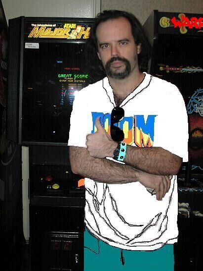 Me at a gaming expo back in 2005 or something