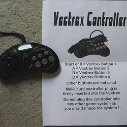 Vectrex controller (modified)