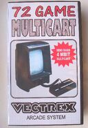 Vectrex 72 game outer box