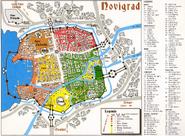 Mapa Novigrad